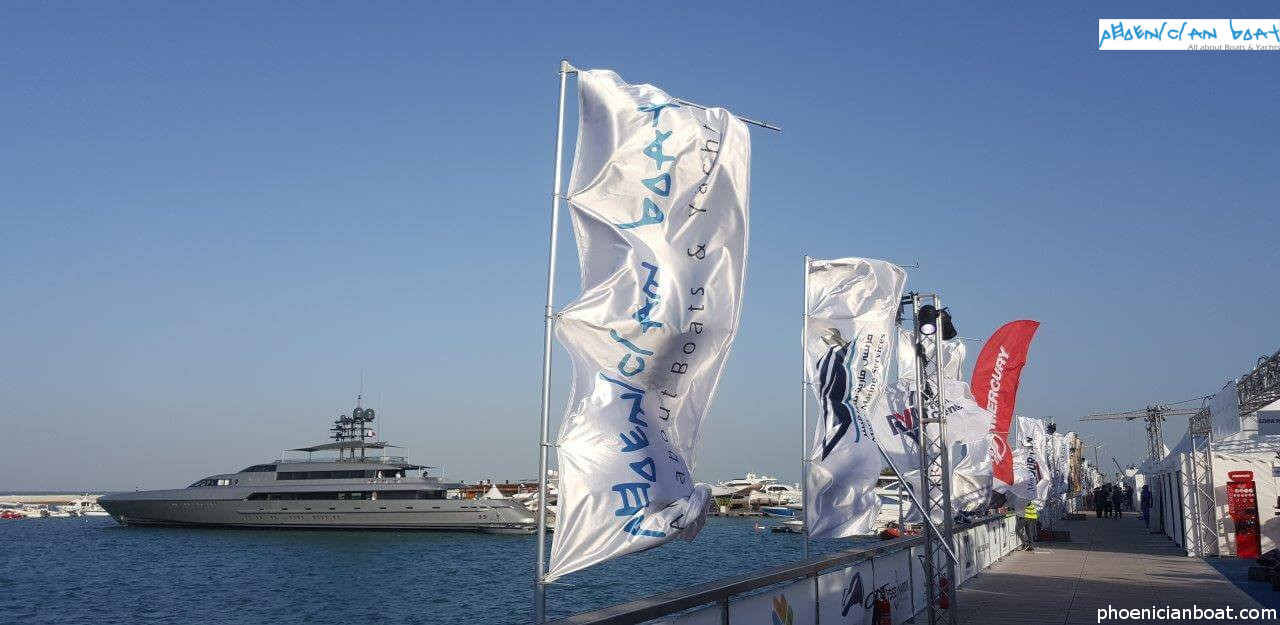 Phoenician Boat - Qatar International Boat Show