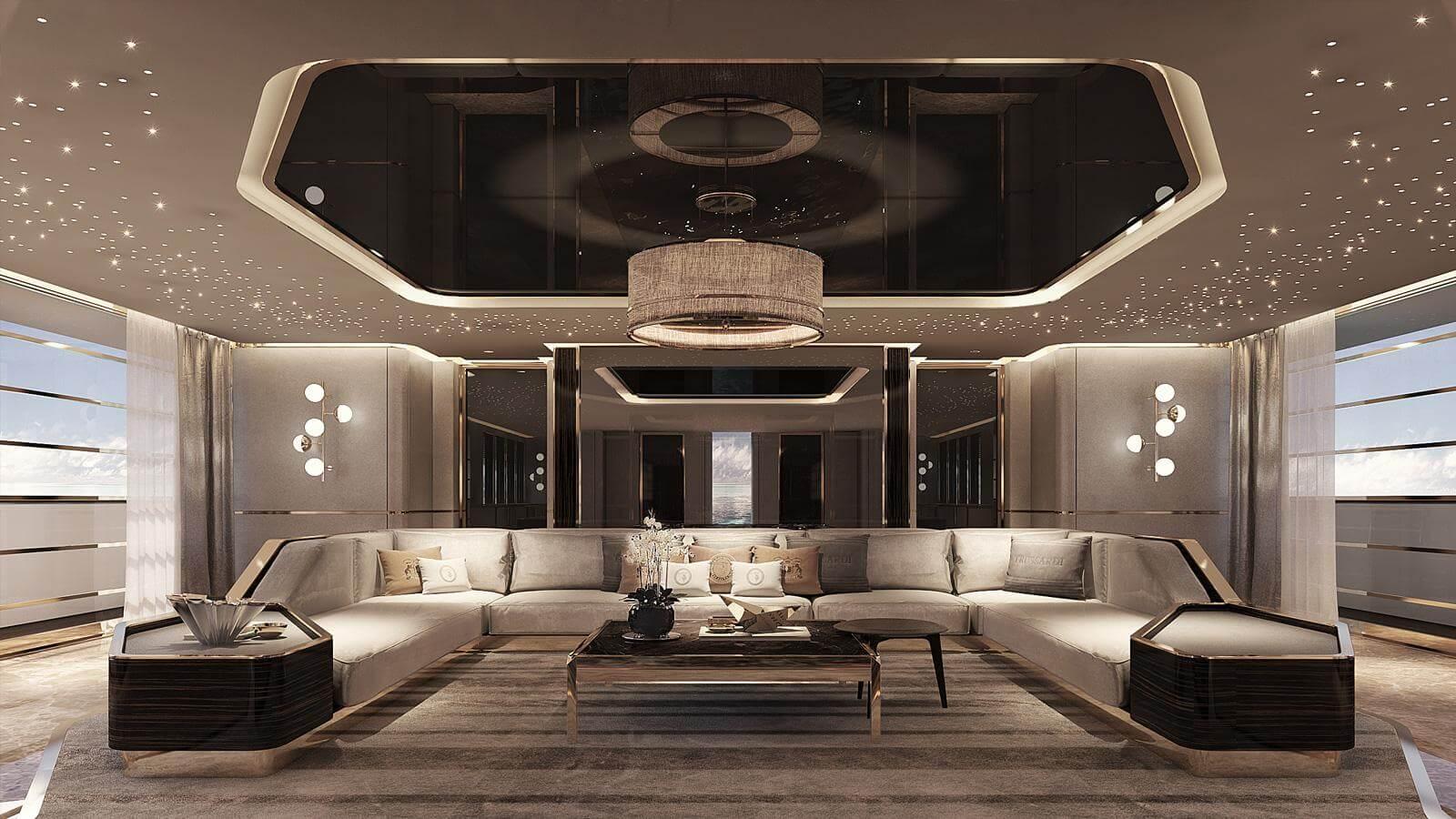 Rossinavi Explorer Yacht Concept Maverick 55 Paolo Nari Design Saloon