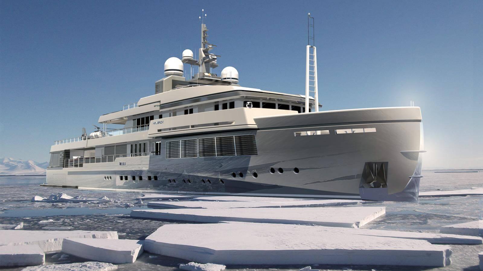 Rossinavi Explorer Yacht Concept Maverick 55 Paolo Nari Design