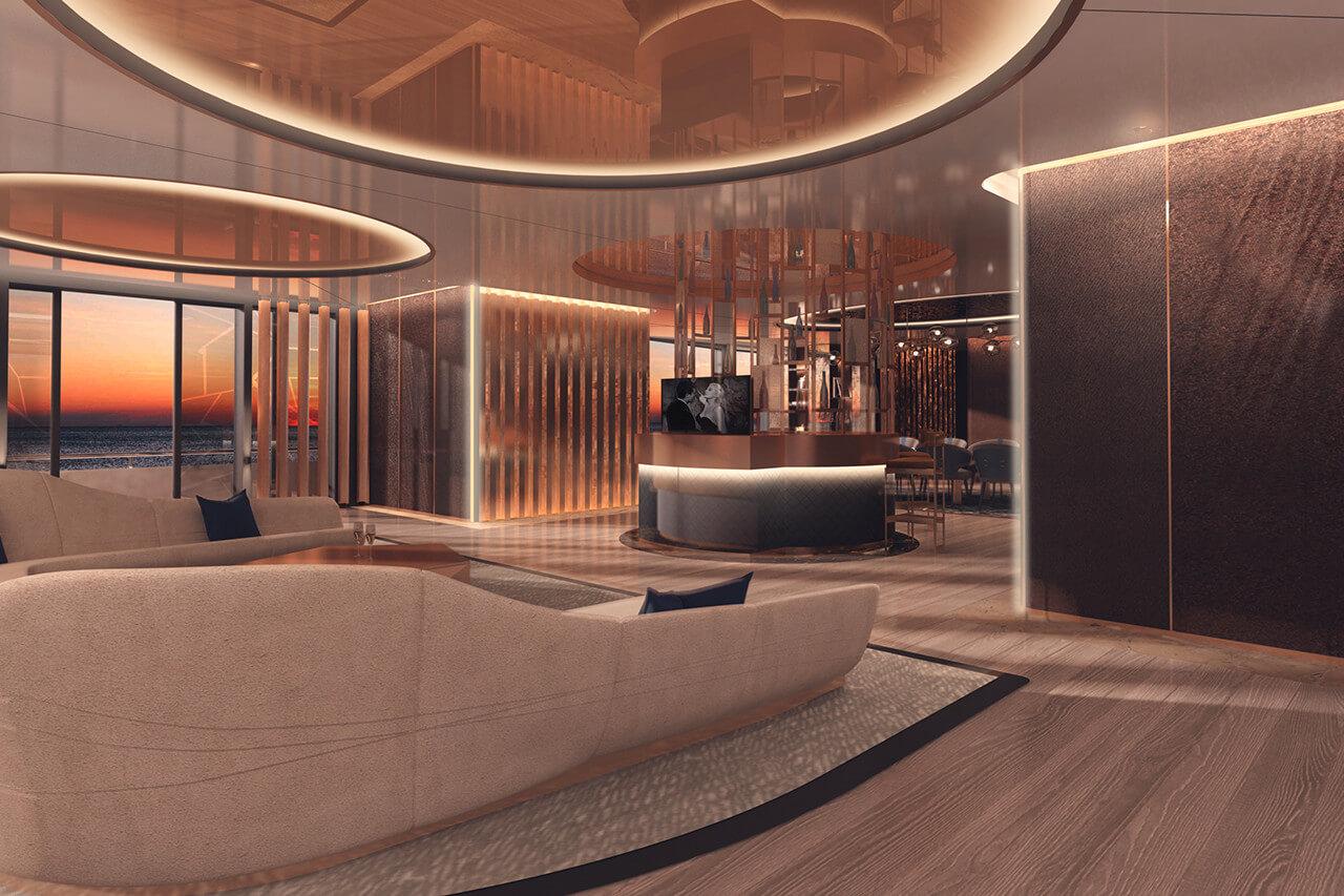 Fincantieri 90M Superyacht Linea - Interior
