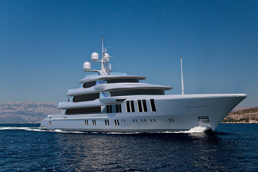 Turqoise Yachts - Vallicelli 74M Bow View