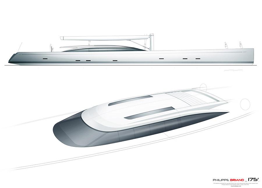 Vitruvius Sailing Yacht