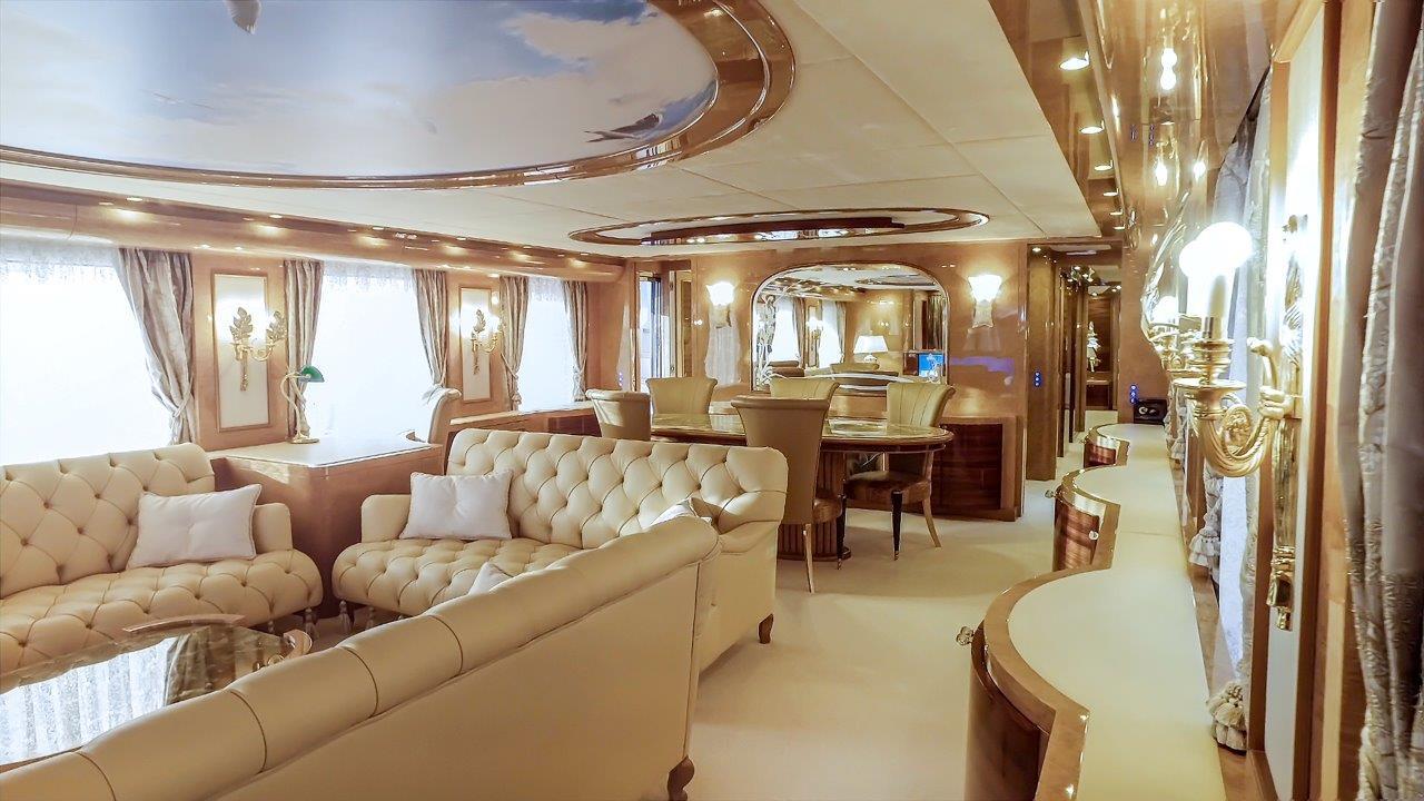Amer Yacht 110 - Salon