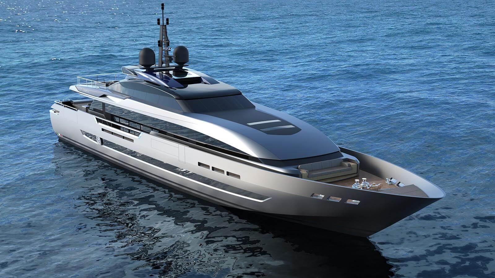 Baglietto 43M Fast Yacht - Design