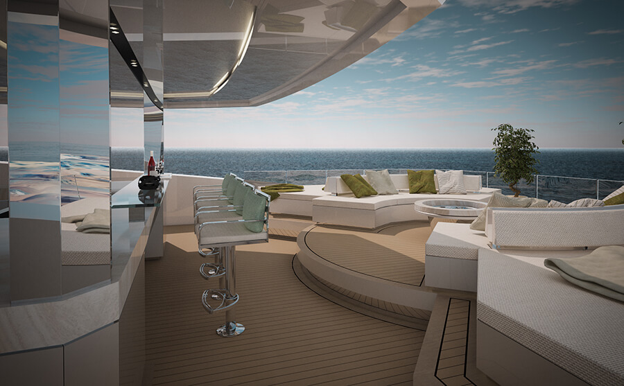 Ice Yachts 68M - Exterior