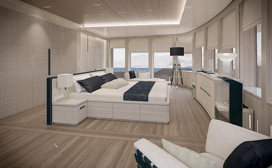 Ice Yachts 68M - Master Cabin