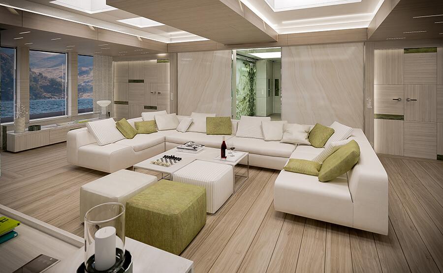 Ice Yachts 68M - Sky Lounge