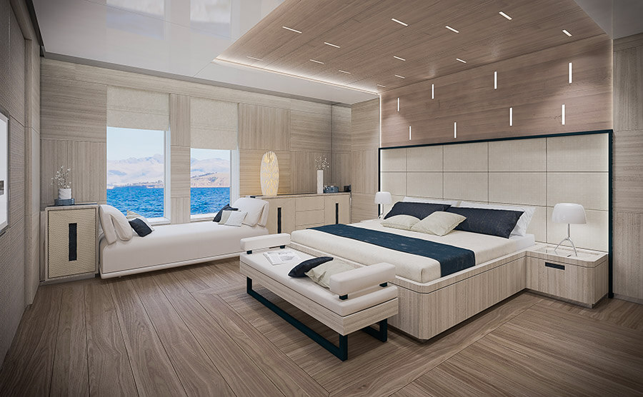 Ice Yachts 68M - VIP Cabin