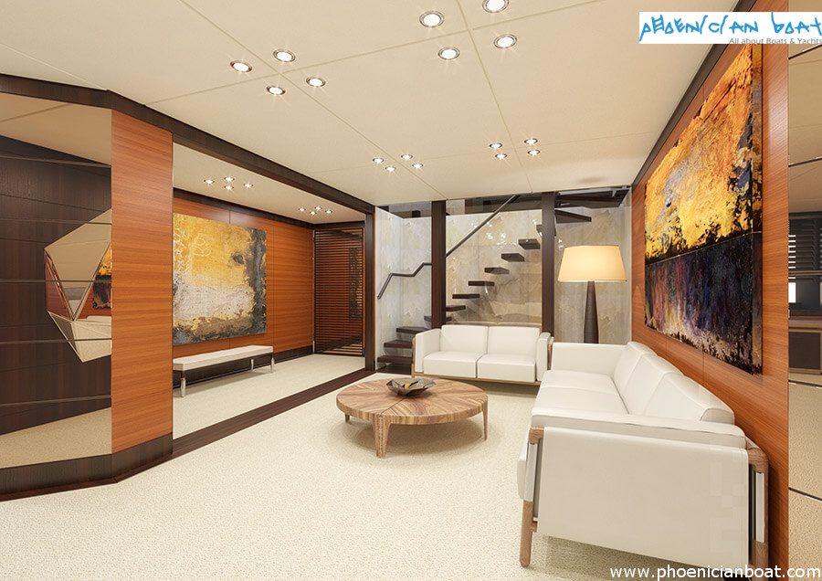 Rosetti Superyachts 85M Concept - Owner Cabin