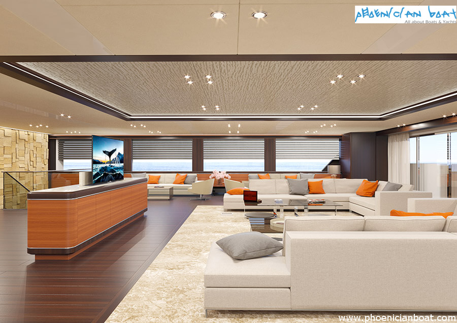 Rosetti Superyachts 85M Concept - Saloon