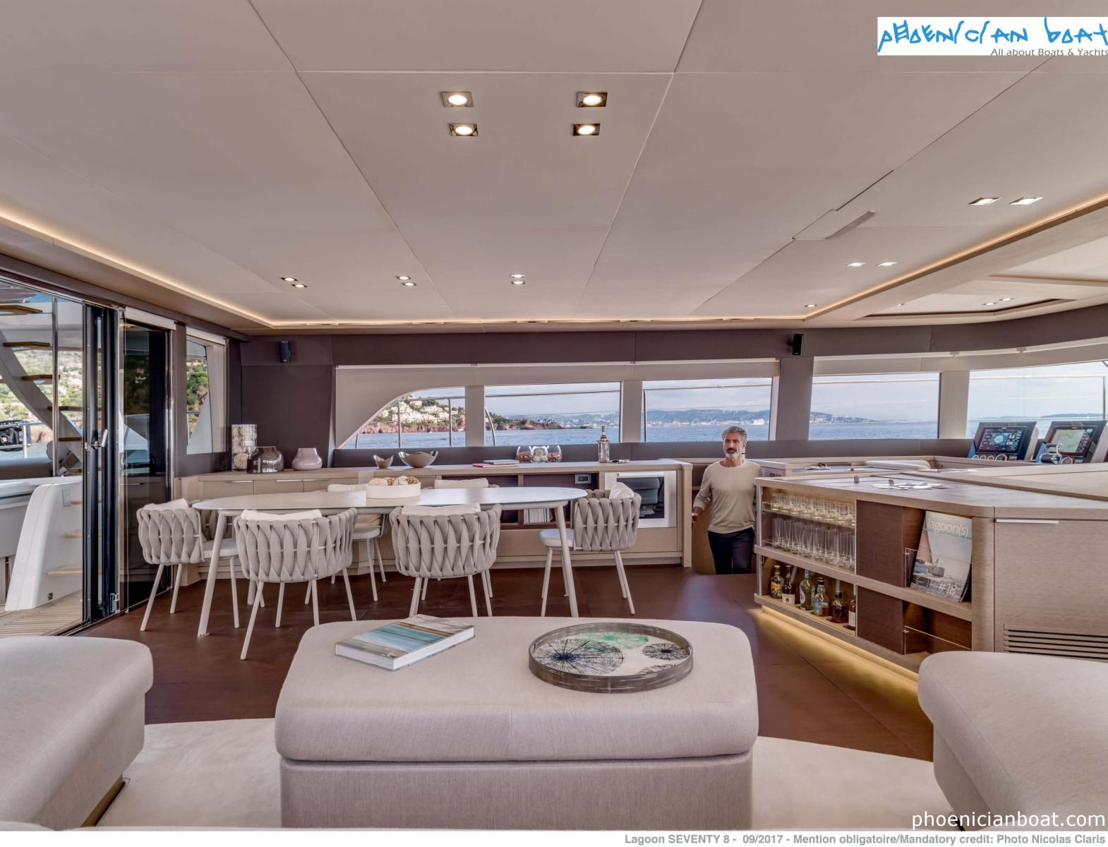 Lagoon Catamarans​ 78 MY - Dinning Area