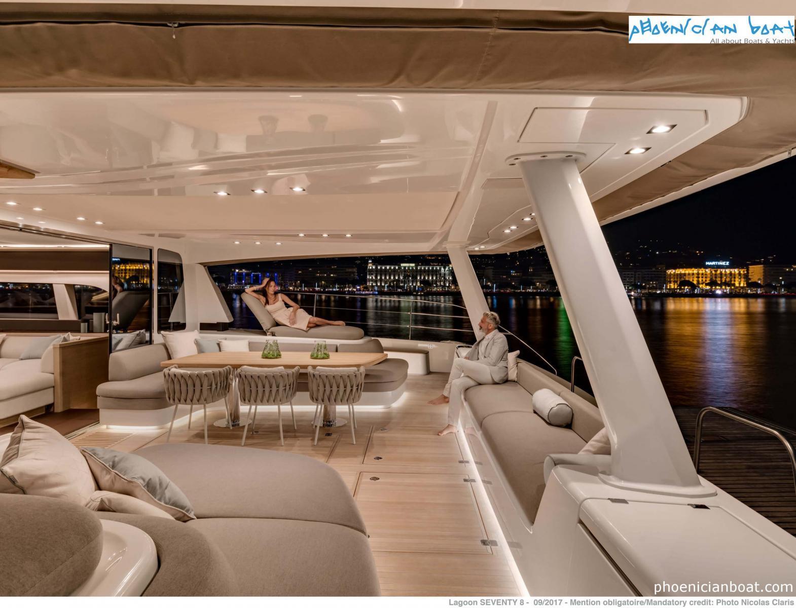 Lagoon Catamarans 78 MY - Exterior Sitting