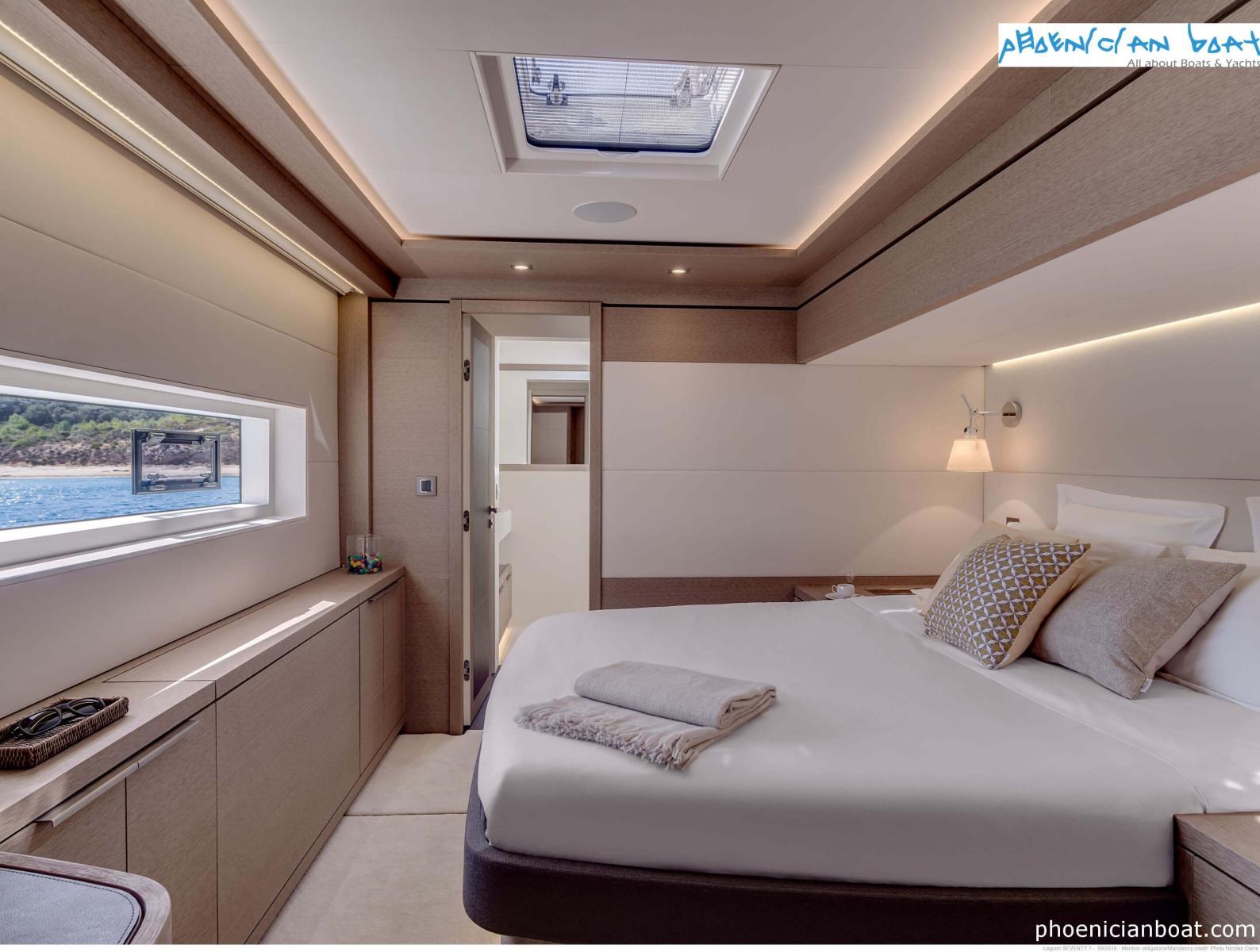 Lagoon Catamarans 78 MY - Guest Cabin
