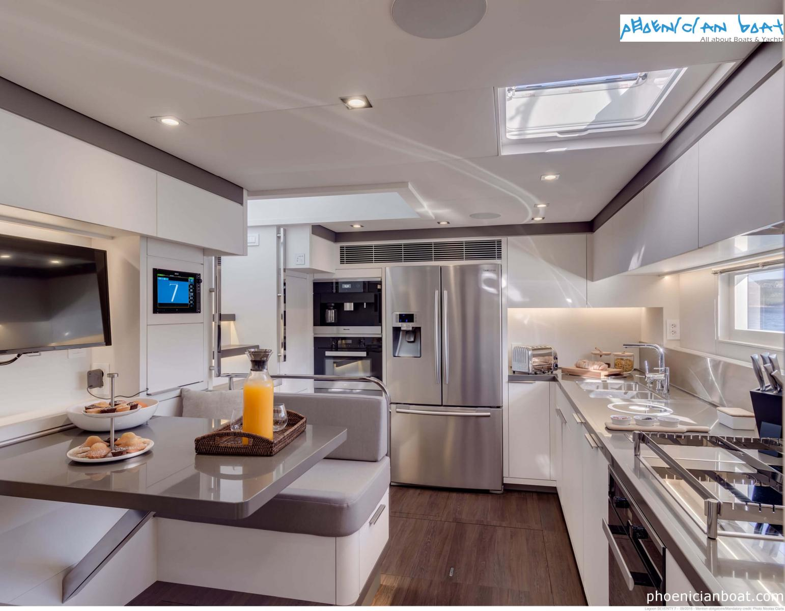 Lagoon Catamarans​ 78 MY - Kitchen