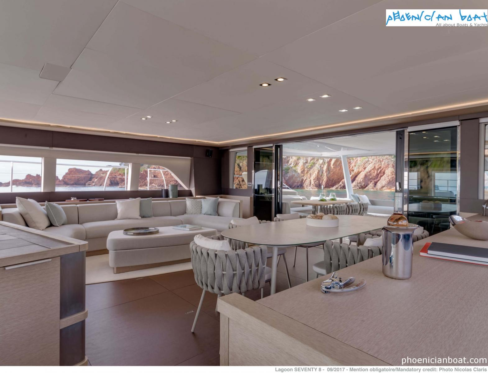 Lagoon Catamarans​ 78 MY - Living Area