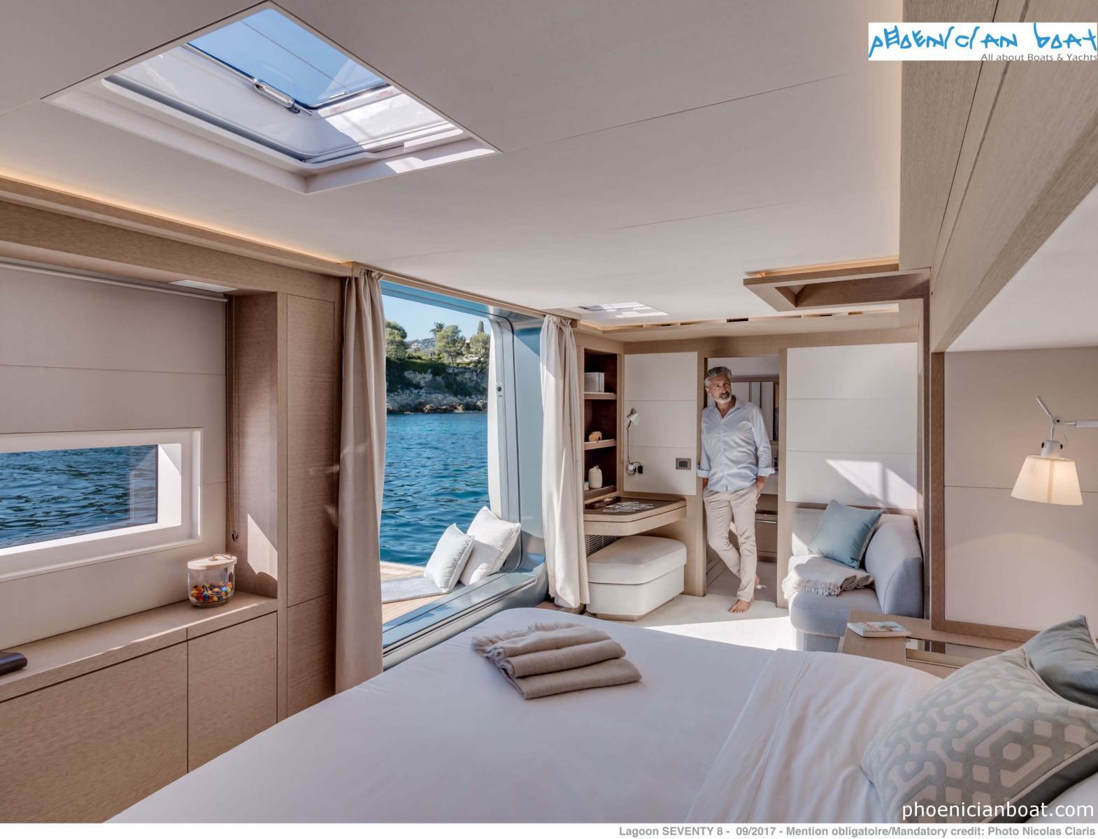 Lagoon Catamarans 78 MY - Master Cabin