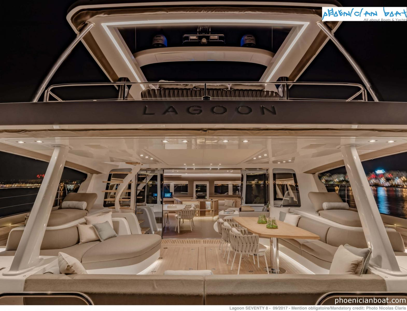 Lagoon Catamarans​ 78 MY - Middle Deck