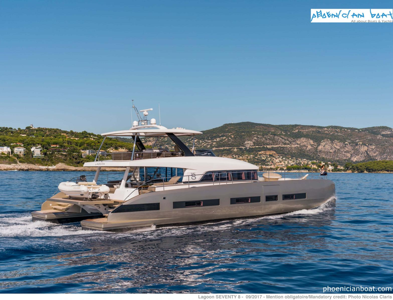 Lagoon Catamarans​ 78 MY - Side View