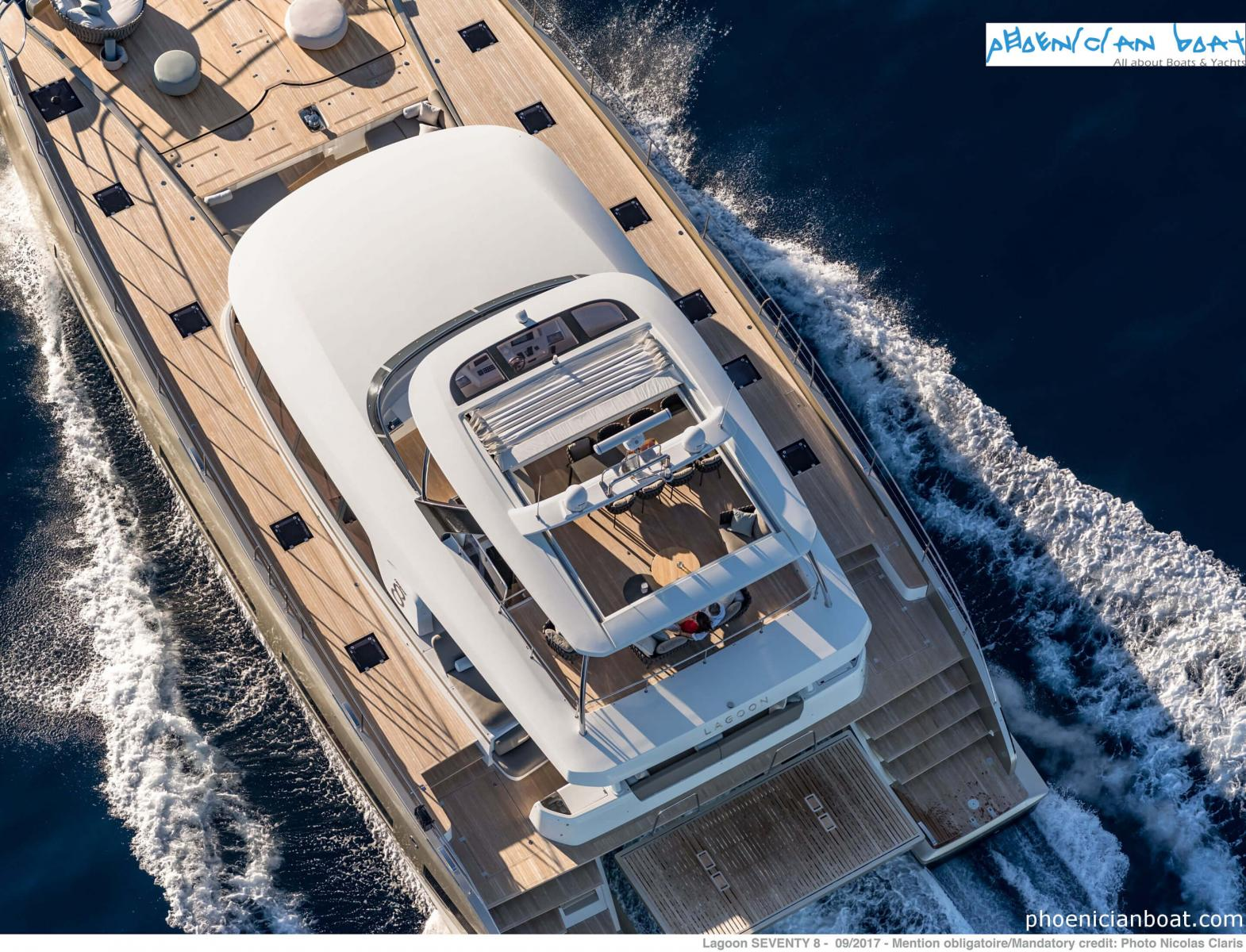 Lagoon Catamarans​ 78 MY - Top View