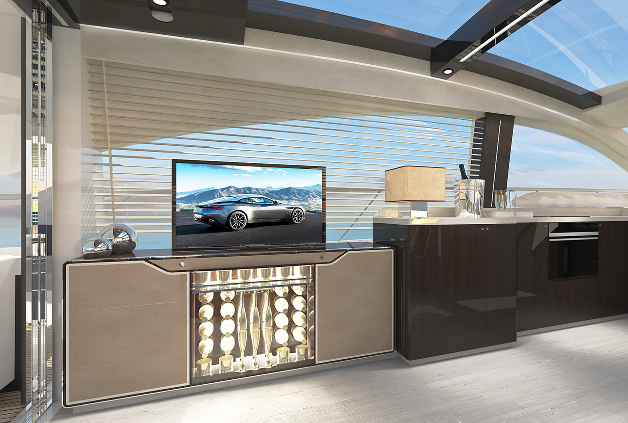 Fairline Yachts unveiled their new Targa 63 GTO