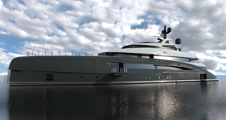 New 62M Superyacht In Build At CRN