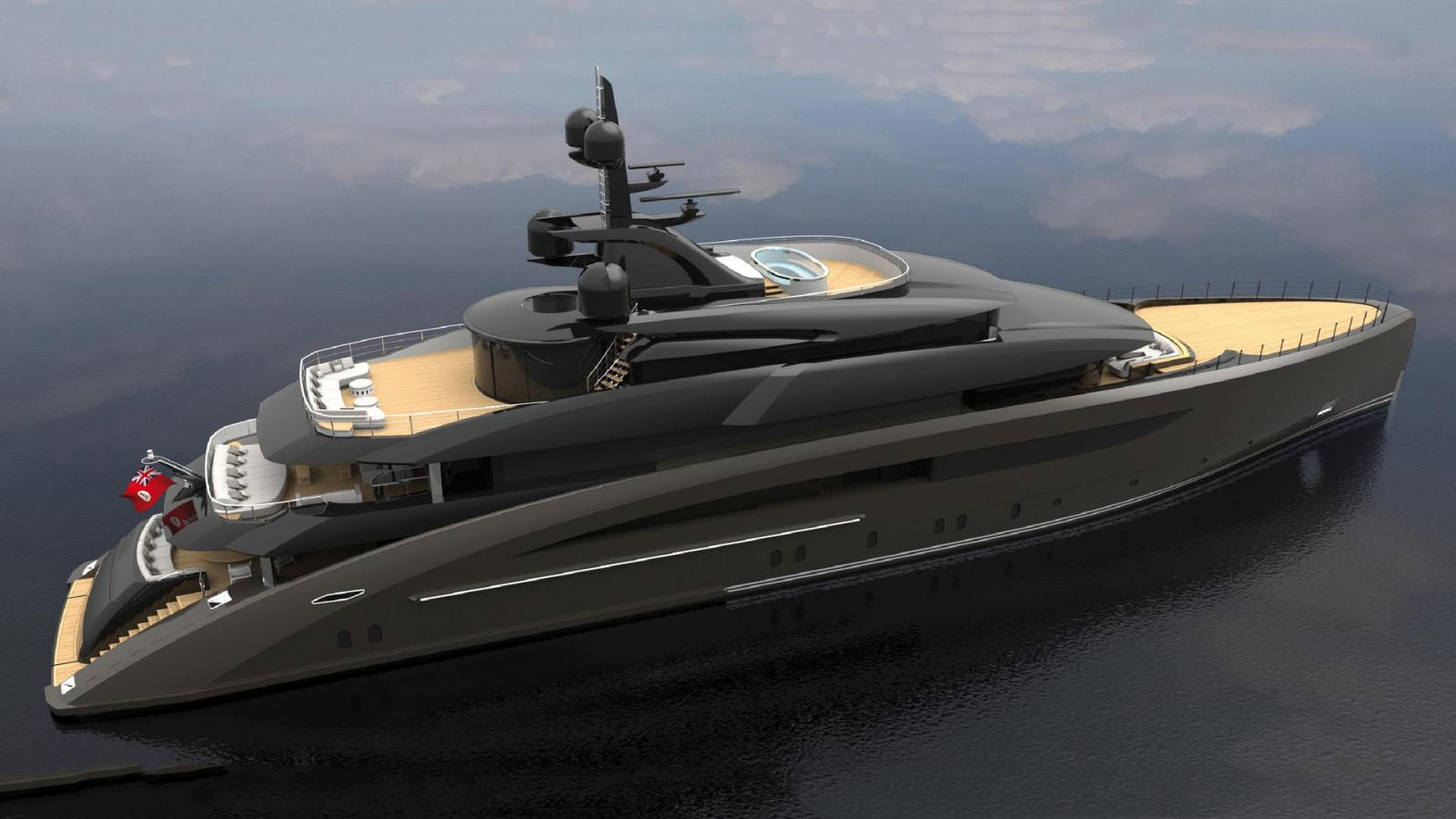 New Concept 62M Superyacht In Build At CRN