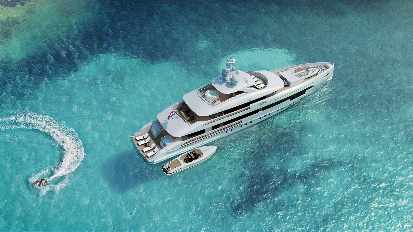 Project Nova launched by Heesen and named Home