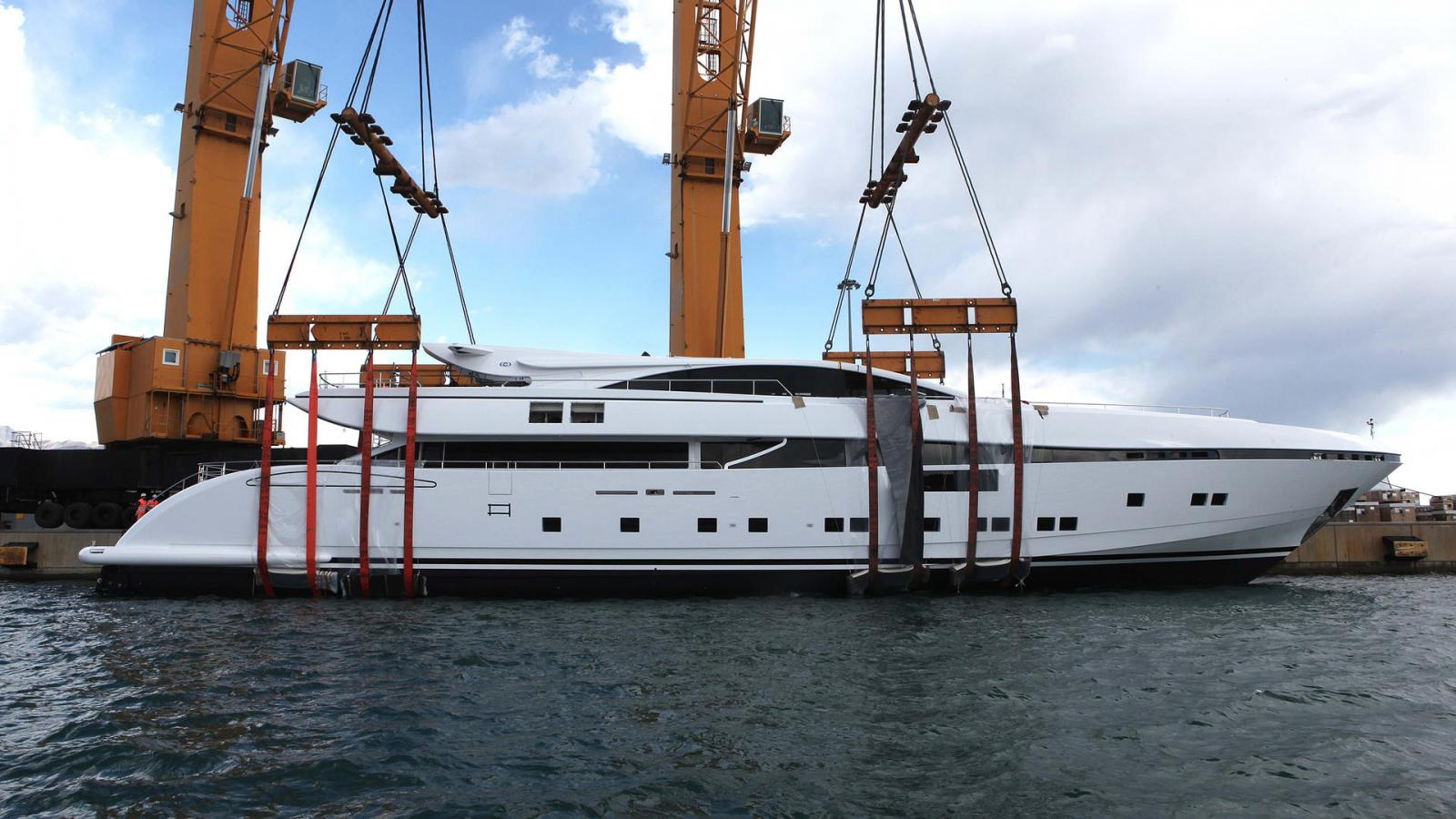 12. CCN launches ELSEA, first fully custom made 50m yacht in aluminum