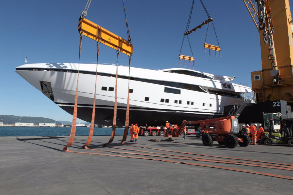 CCN launches ELSEA, first fully custom made 50m yacht in aluminum