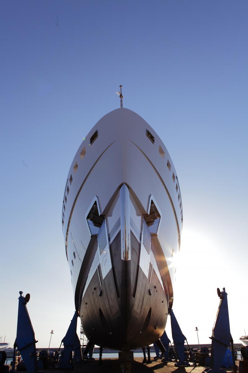Benetti Launches the megayacht Seasene 67 Meter Custom Superyacht