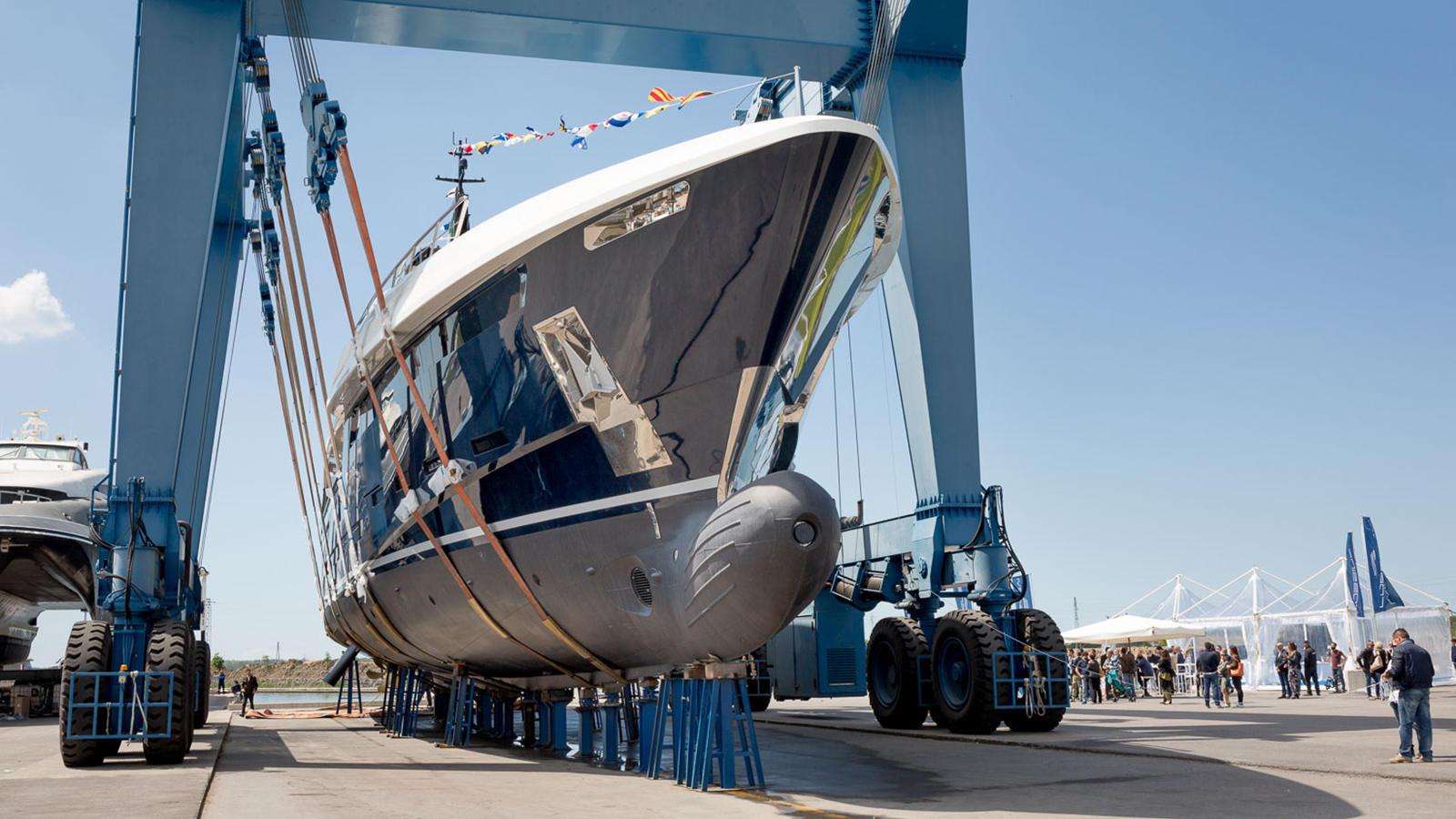 Rossi Navi's Latest Launch 49 Meter N2H