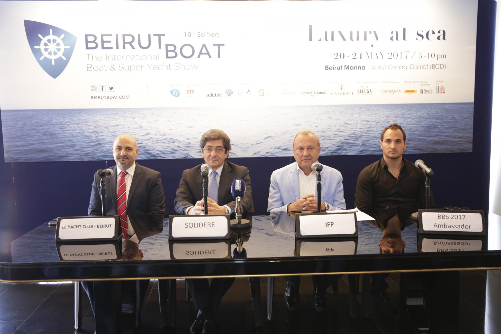 IFP Group Launches Beirut Boat 2017 Under the Patronage of His Excellency President Michel Aoun at Marina Solidere