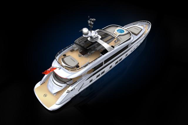 Dynamiq Builds First Superyacht with Porsche DNA