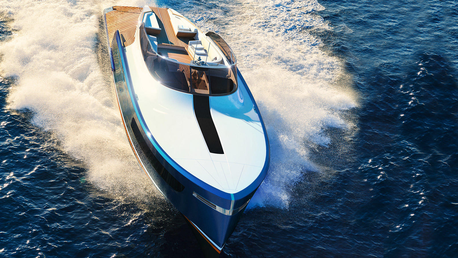 Claydon Reeves and Rolls-Royce reveal Aeroboat S6 concept