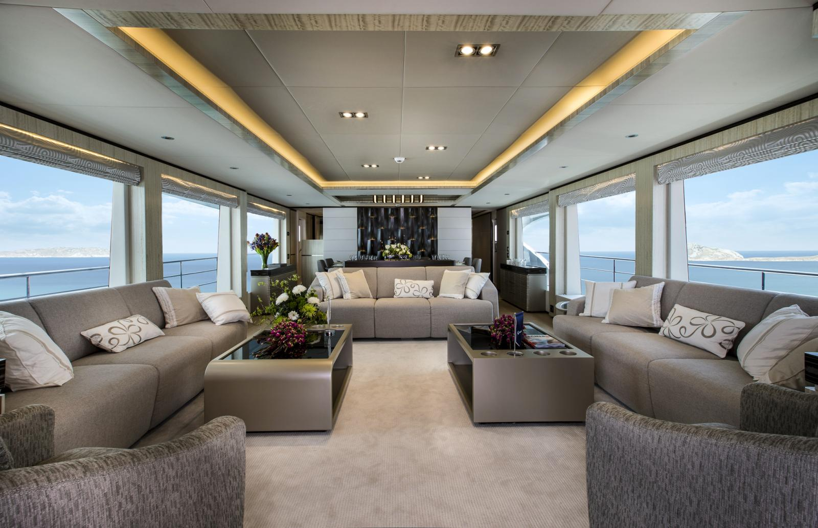 Gulf Craft Delivers the Super Majesty 100 Mega Yacht Nahar