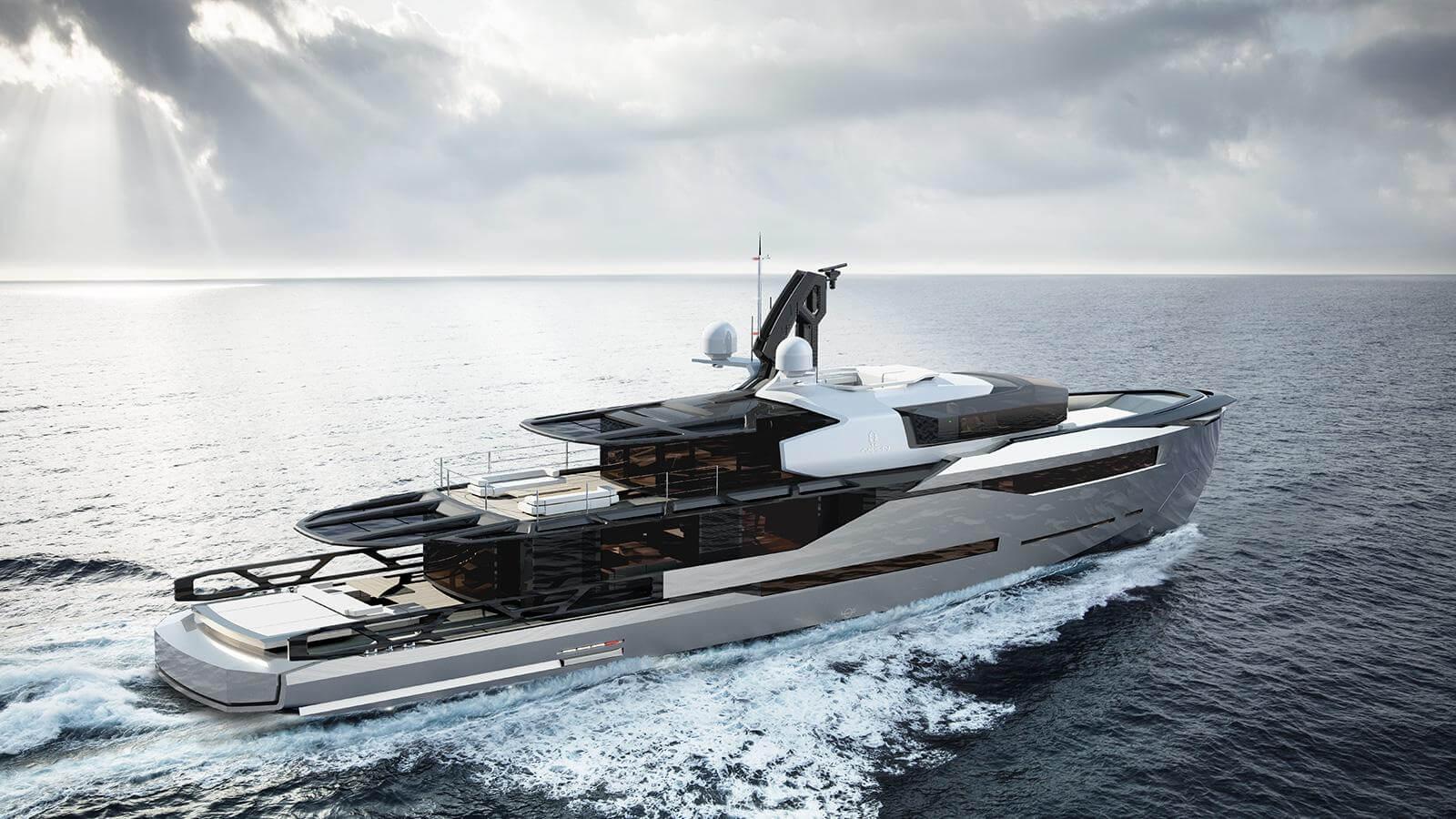 Aeon 380 Concept Yacht - Scaro Design