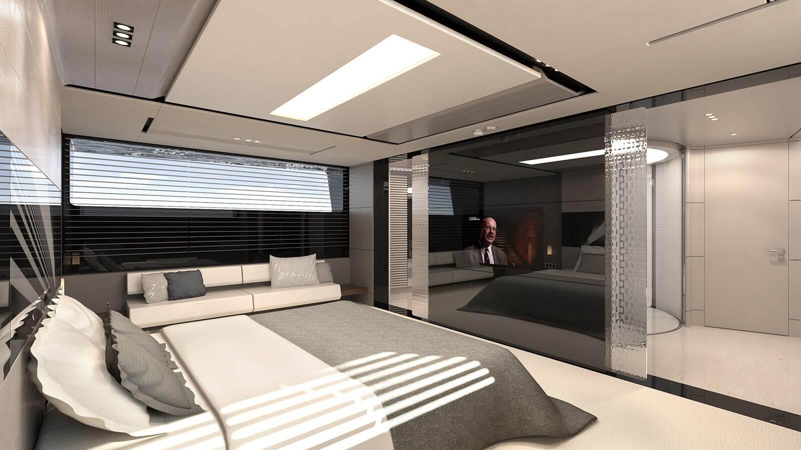 Aeon 380 Concept Yacht Cabin - Scaro Design