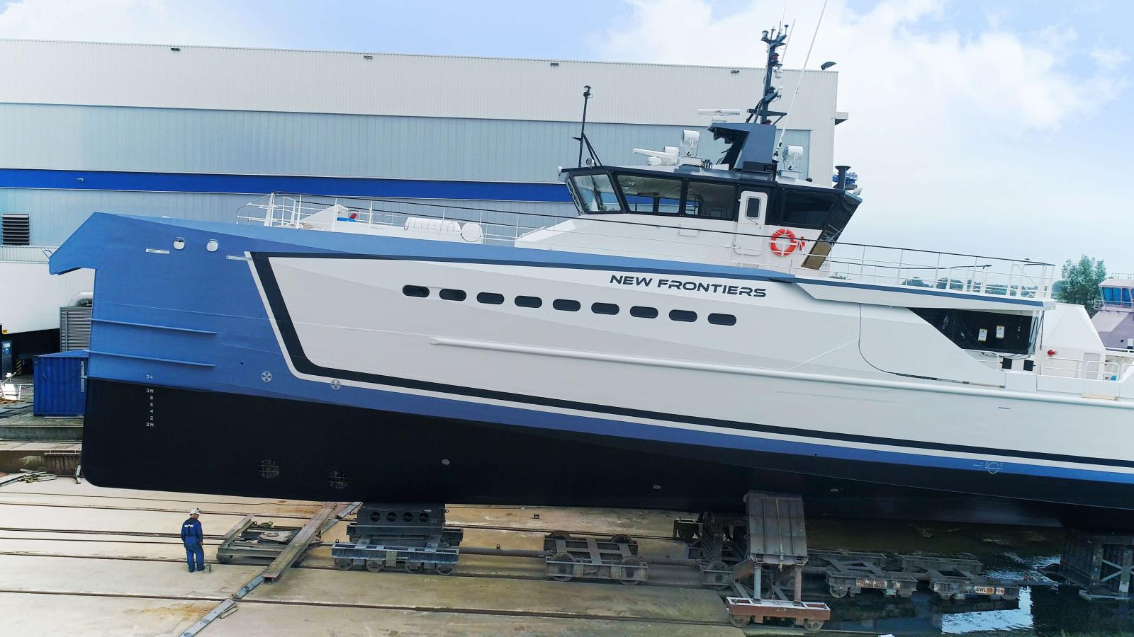 Damen New Frontiers at the Monaco Yacht Show