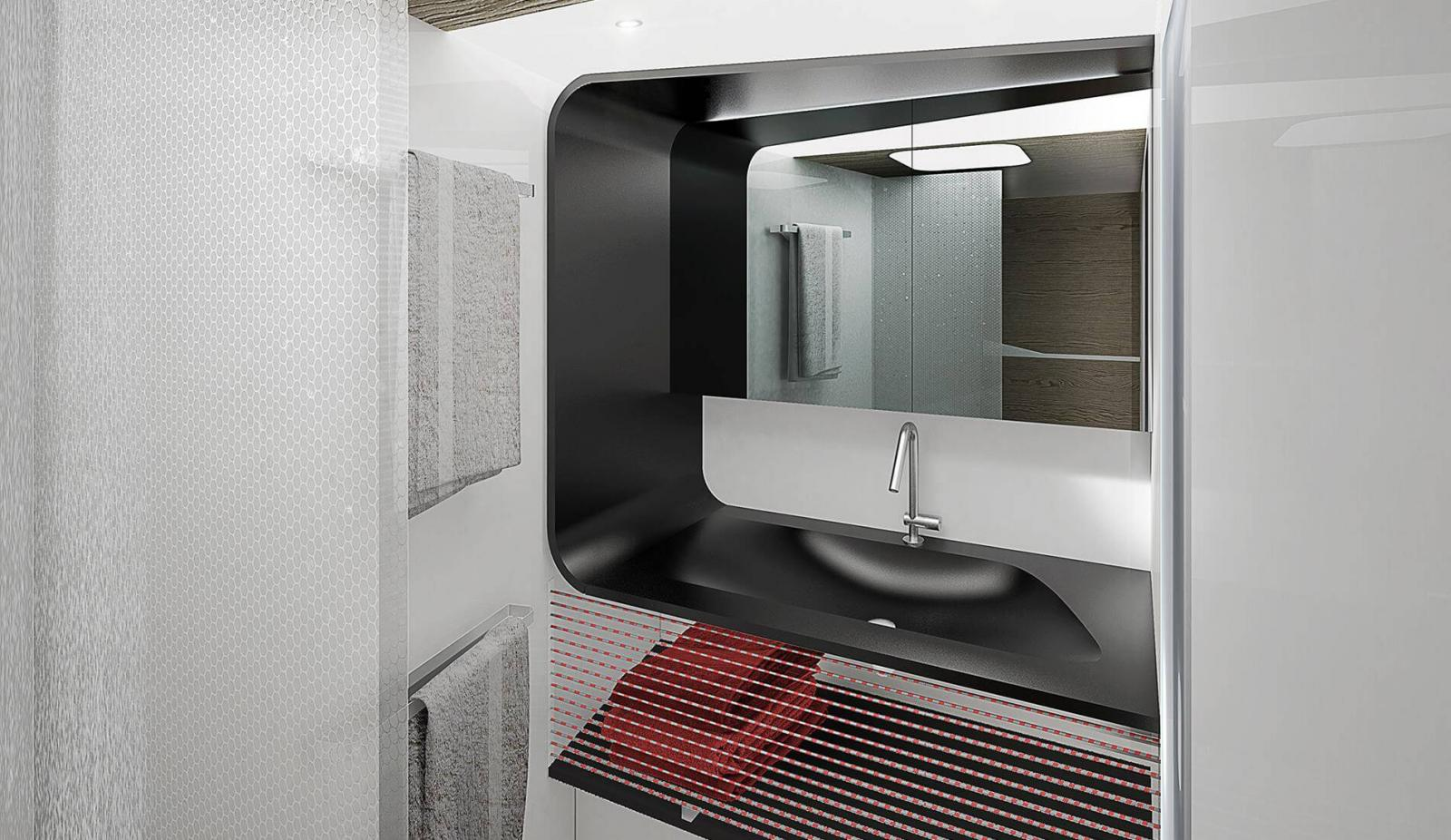 Wallycento Hull 4 Tango - Sailing Yacht - Bathroom