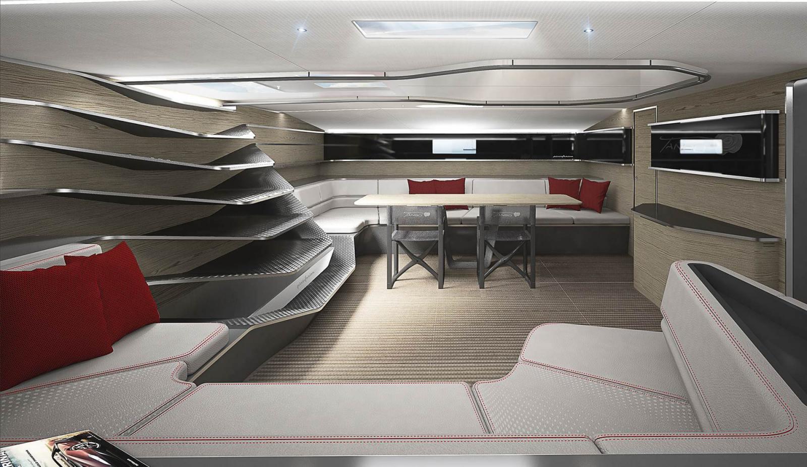 Wallycento Hull 4 Tango - Sailing Yacht - Dinning Room