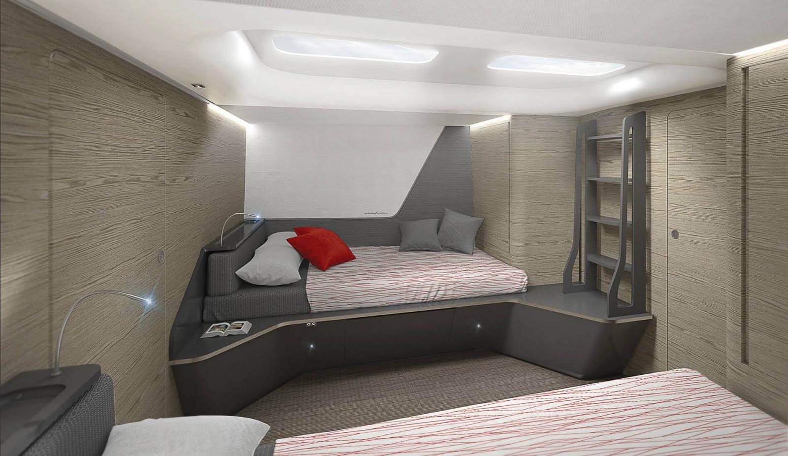 Wallycento Hull 4 Tango - Sailing Yacht - Guest Room