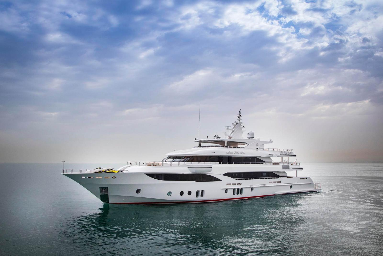 A Majesty 155 Takes Delivery Of His Fourth Gulf Craft Yacht