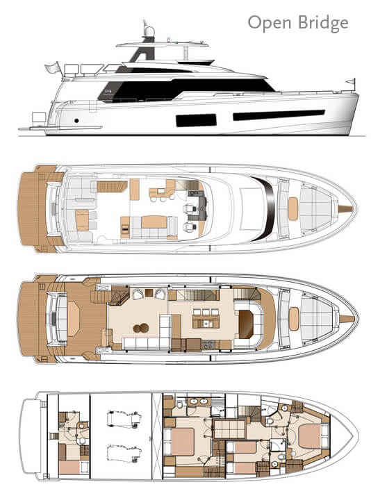 Horizon Yachts Unveils New V67 Model