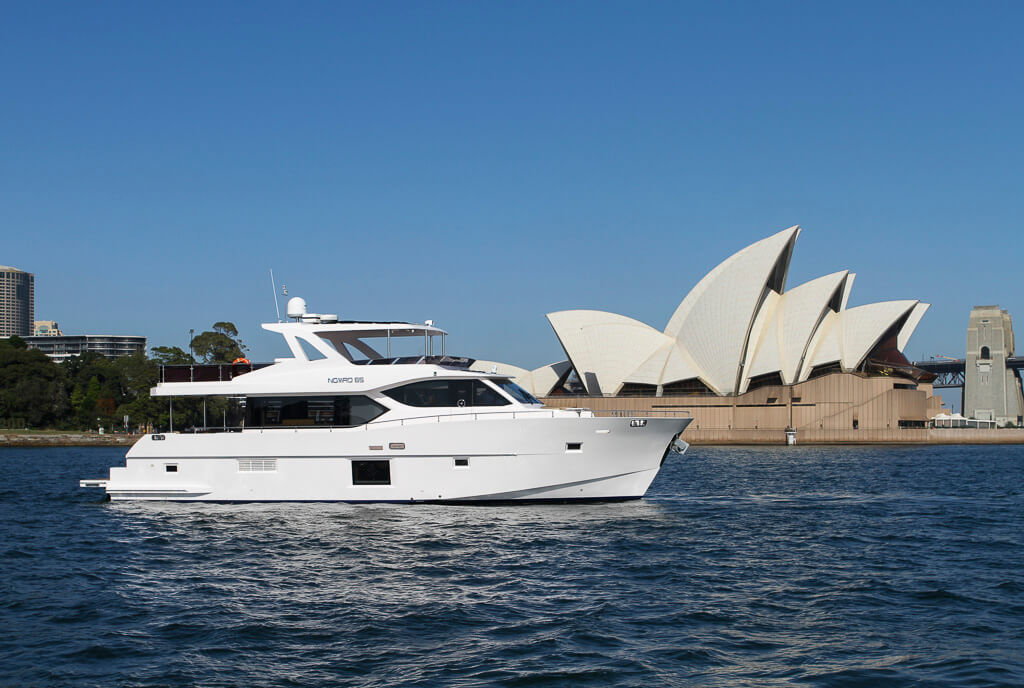 Gulf Craft Nomad 65 at Sydney International Boat Show