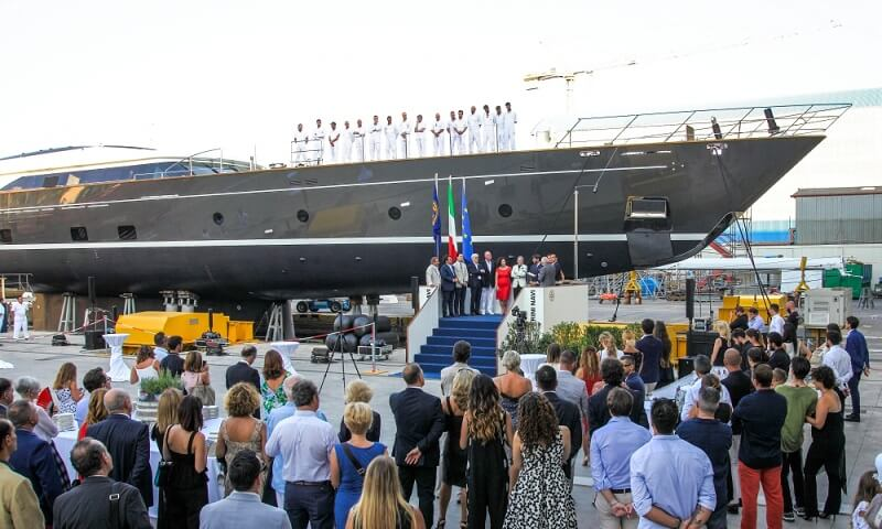 60M Seven Launched By Perini Navi