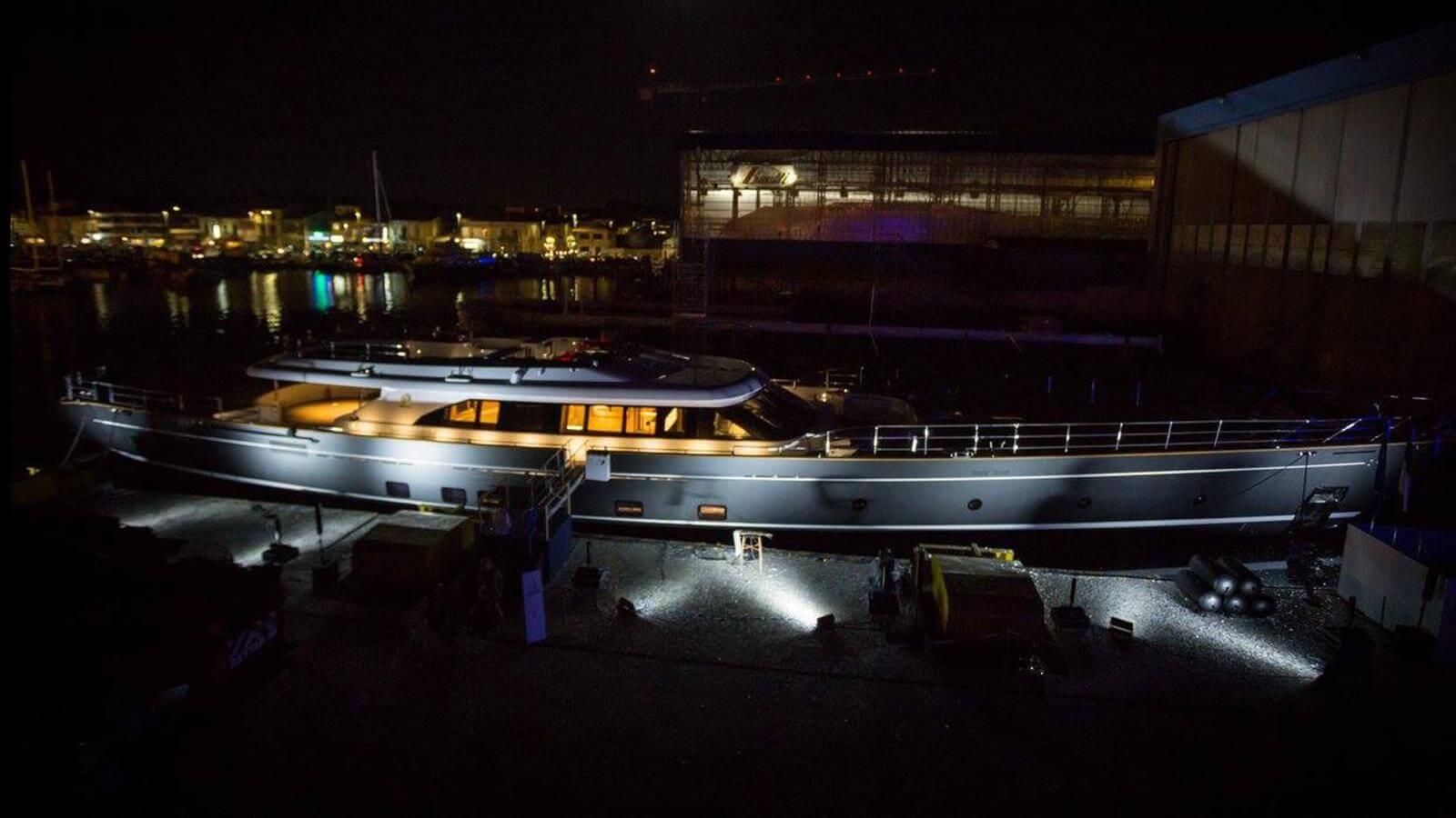 Perini Navi Sailing Yacht Seven Launched