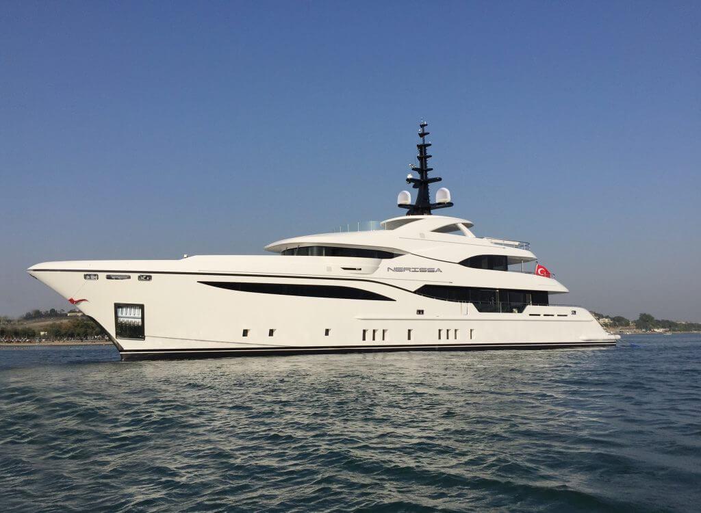 Bilgin Yachts Launches 48M Nerissa