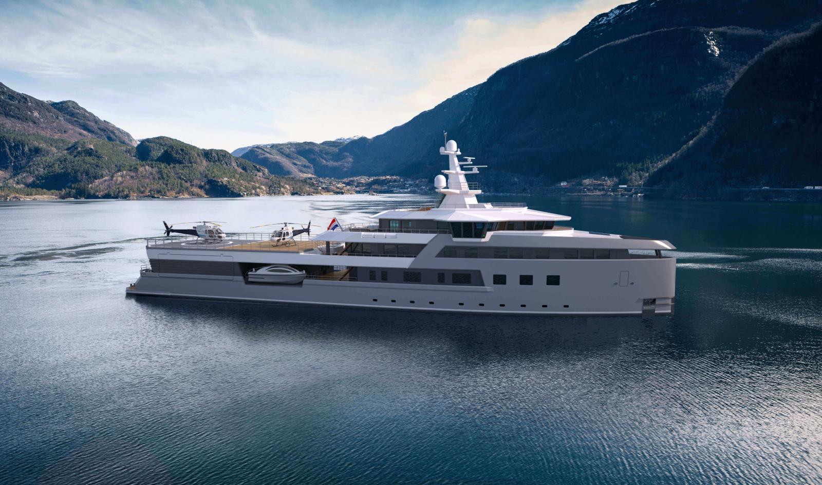 Damen SeaXplorer 75 Metre Expedition Yacht