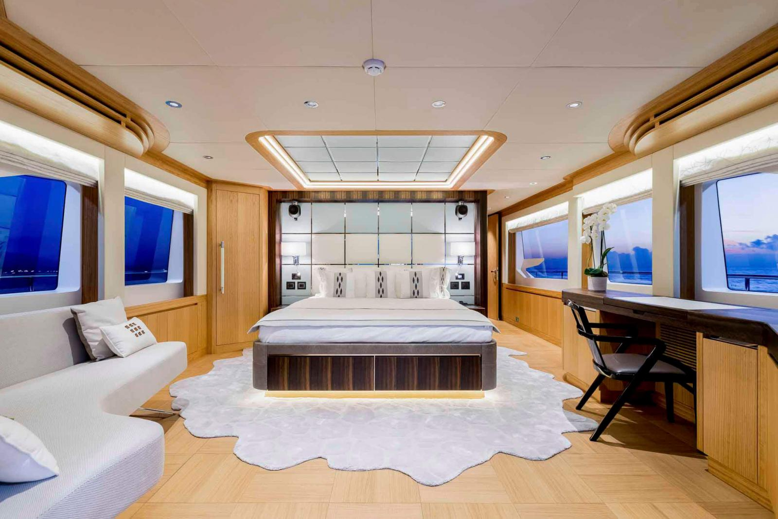 Majesty 110 Owner's Stateroom