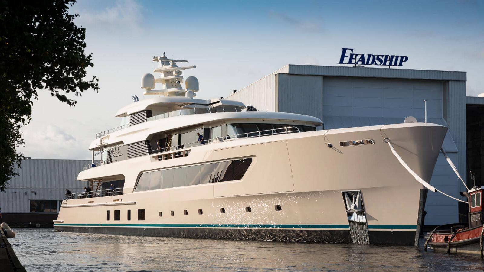 Feadship Hull 696 Superyacht